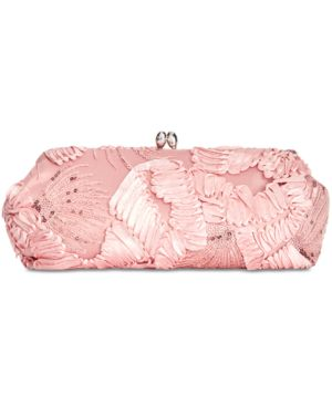 SIA EMBROIDERED SMALL CLUTCH