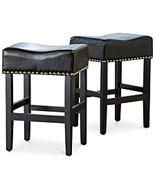 Fardell Backless Counter Stool (Set Of 2)