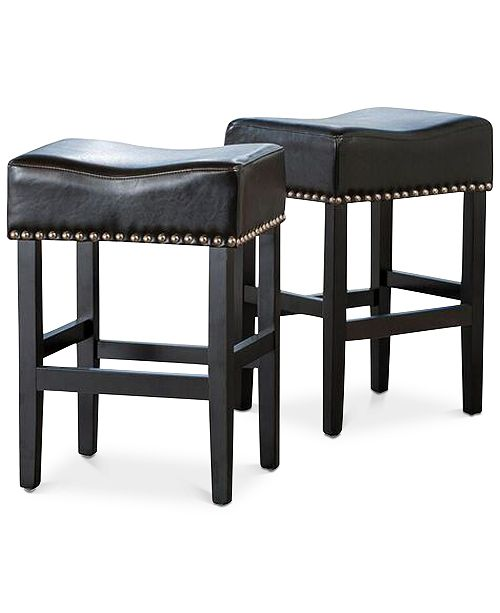 Noble House Fardell Backless Counter Stool (Set Of 2), Quick Ship