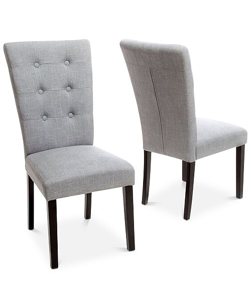 Alven Dining Chair Set Of 2, Quick Ship
