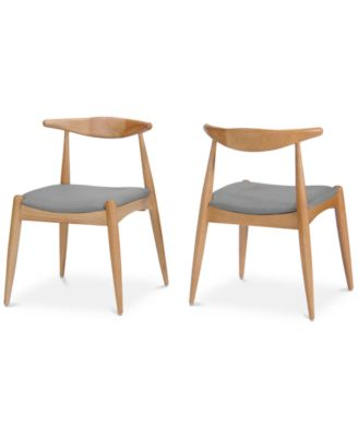 Perrie Dining Chair (Set of 2), Quick Ship