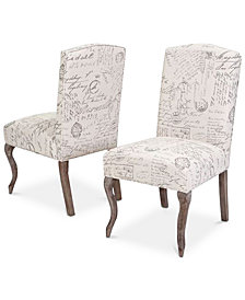 Hames Dining Chairs (Set of 2), Quick Ship