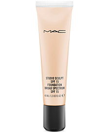 MAC Studio Sculpt SPF 15 Foundation, 1.3 oz