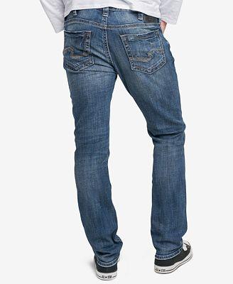 Mens Konrad Jeans Silver Jeans Co