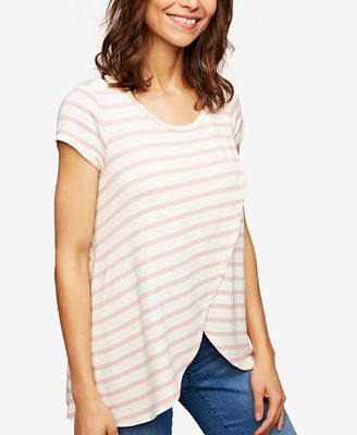 A Pea In The Pod Pull-Over Nursing T-Shirt