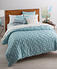 Whim by Martha Stewart Collection You Compleat Me Blue 3-Pc. King Comforter Set, Created for Macy's