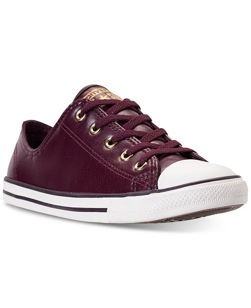 c694ff76ceb78e ... Converse Women s Chuck Taylor Dainty Craft SL Casual Sneakers from  Finish ...