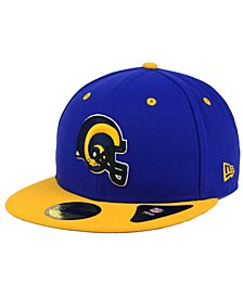 Los Angeles Rams 2 Tone 59FIFTY Cap