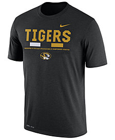 Nike Men's Missouri Tigers Legend Staff Sideline T-Shirt
