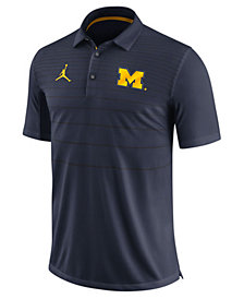Nike Men's Michigan Wolverines Early Season Coach Polo