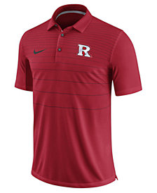 Nike Men's Rutgers Scarlet Knights Early Season Coach Polo