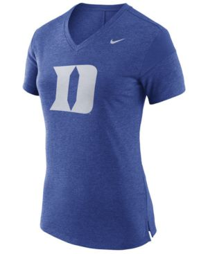 WOMEN'S DUKE BLUE DEVILS FAN V TOP T-SHIRT