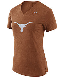 Nike Women's Texas Longhorns Fan V Top T-Shirt