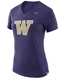 Nike Women's Washington Huskies Fan V Top T-Shirt
