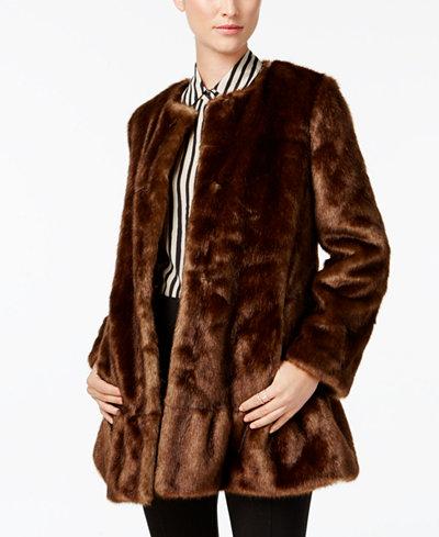 Kate Spade New York Faux Fur Coat Women Macy S