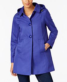 kate spade new york A-Line Raincoat
