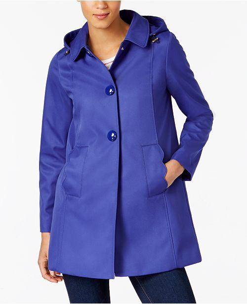 ad2aa7140ef4 kate spade new york A-Line Raincoat   Reviews - Coats - Women ...