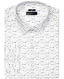 Bar Iii Men S Slim Fit Stretch Easy Care Arrow Print Dress Shirt Created For