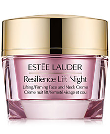 Estée Lauder Resilience Lift Night Lifting/Firming Face & Neck Creme, 2.5-oz.