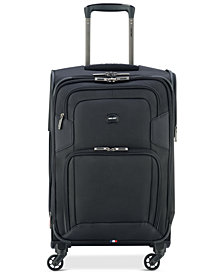 "Delsey Opti-Max 21"" Expandable 4-Wheel Carry-On Spinner Suitcase, Created for Macy's"