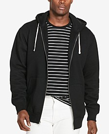 Men's Big & Tall Classic Fleece Full Zip Hoodie