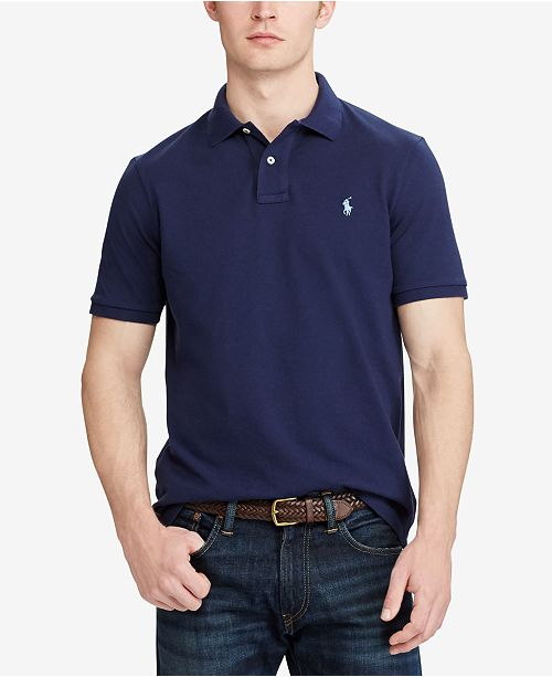 81bbbeed3 Polo Ralph Lauren Men s Classic Fit Mesh Polo   Reviews - Polos ...