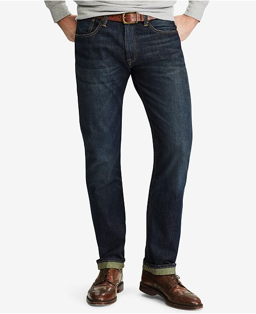 60106d1f4478e Polo Ralph Lauren Men s Hampton Relaxed Straight Jean   Reviews ...