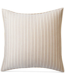 CLOSEOUT! Lauren Ralph Lauren Graydon Cotton Bold Stripe European Sham