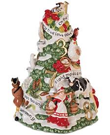 Twelve Days Of Christmas Musical Figurine