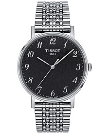 Tissot Men's Swiss Everytime Stainless Steel Bracelet Watch 38mm