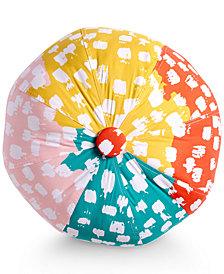 "Scribble Beach Ball Brushstroke Dot 16"" Decorative Pillow"