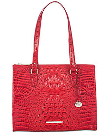 Brahmin Melbourne Anywhere Embossed Leather Tote, Created for Macy's