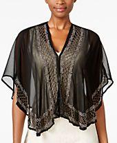 INC International Concepts Beaded Evening Kimono, Created for Macy's