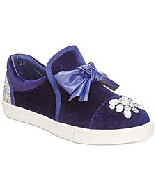 Badgley Mischka Delight Bow Sneakers, Little Girls & Big Girls