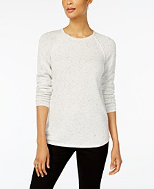 Textured Curved-Hem Sweater, Created for Macy's