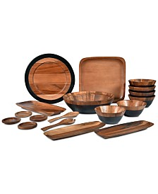 Noritake Serveware, Kona Wood Collection