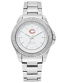 Jack Mason Women's Chicago Bears Glitz Sport Bracelet Watch
