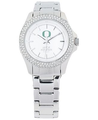 Jack Mason Women's Oregon Ducks Glitz Sport Bracelet Watch