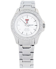 Jack Mason Women's Texas Tech Red Raiders Glitz Sport Bracelet Watch