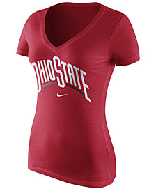 Nike Women's Ohio State Buckeyes Wordmark T-Shirt