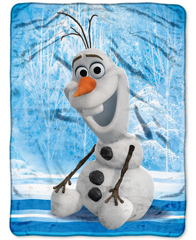 Disney Frozen Olaf Chills And Thrills 46 X 60 Plush