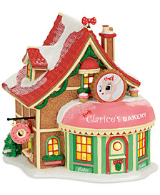 Department 56 North Pole Village Clarice's Bakery