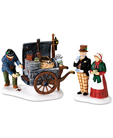 Department 56 Dickens' Village The Coffee Stall, Set of 2