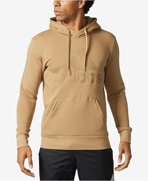 Adidas Men S Essentials Logo Hoodie Hoodies