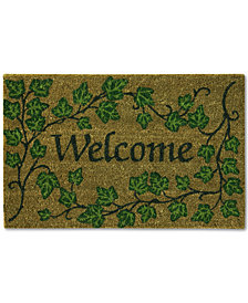 "Bacova English Ivy 18"" x 28"" Welcome Doormat"