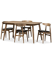 Edna 5-Pc. Dining Set, Quick Ship