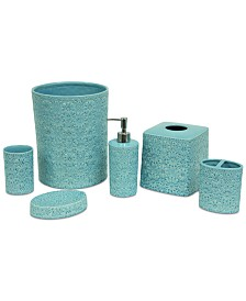 Jessica Simpson Blue Bonito Bath Accessories