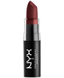 NYX Professional Makeup Matte Lipstick, 0.16 oz