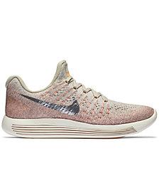 Nike Women's LunarEpic Low Flyknit 2 Running Sneakers from Finish Line
