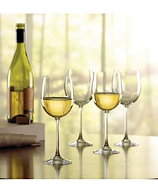 Stemware, Tuscany Classics Chardonnay Wine Glasses, Set of 4